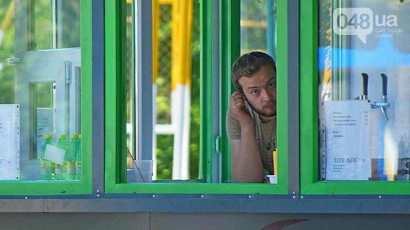 В Одессе превратили в бар спортивную площадку на Трассе здоровья (ФОТО), фото-1