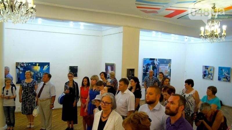 Современный австрийский художник показал хаос в Одессе (ФОТО), фото-3
