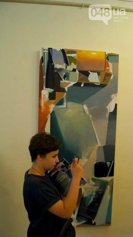 Современный австрийский художник показал хаос в Одессе (ФОТО), фото-6