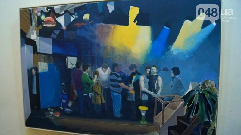 Современный австрийский художник показал хаос в Одессе (ФОТО), фото-11