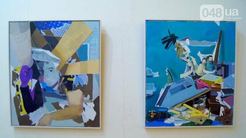 Современный австрийский художник показал хаос в Одессе (ФОТО), фото-42