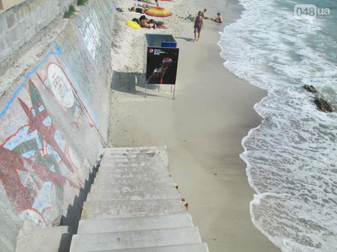 Коммерческое благоустройство от горсовета медленно, но уверенно отбирает пляж у горожан (ФОТО), фото-13