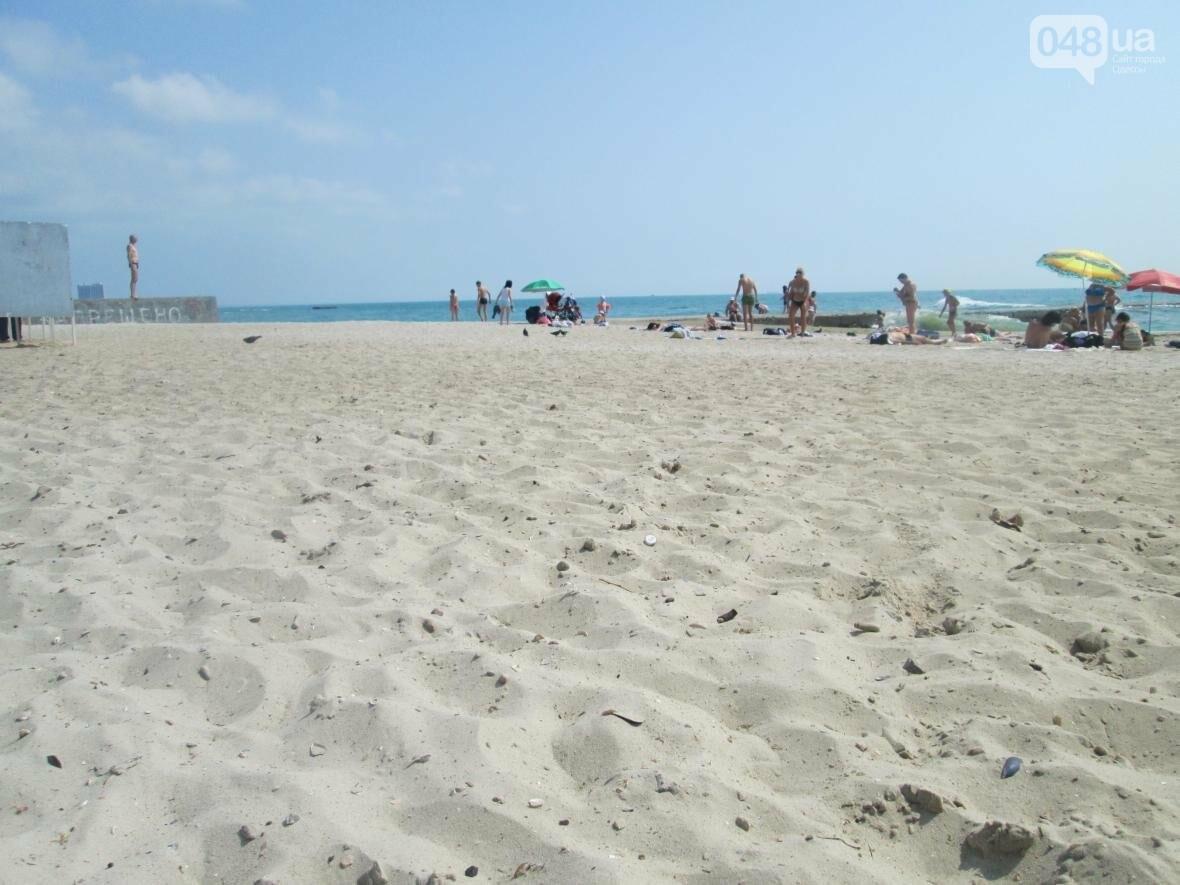 Коммерческое благоустройство от горсовета медленно, но уверенно отбирает пляж у горожан (ФОТО), фото-1