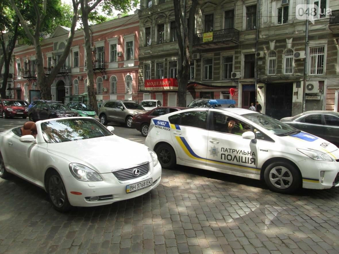 Авария в центре Одессы приостановила движение вдоль Пушкинской (ФОТО), фото-3