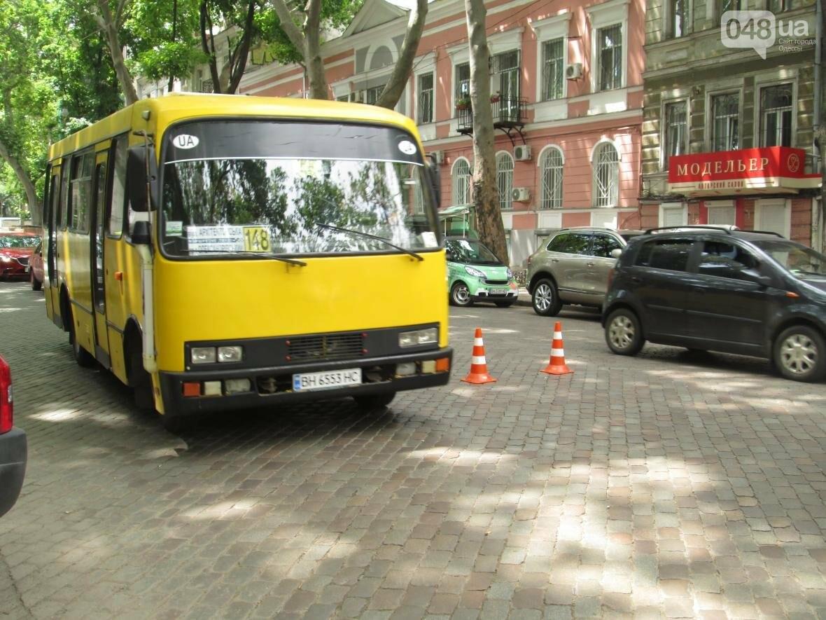 Авария в центре Одессы приостановила движение вдоль Пушкинской (ФОТО), фото-2