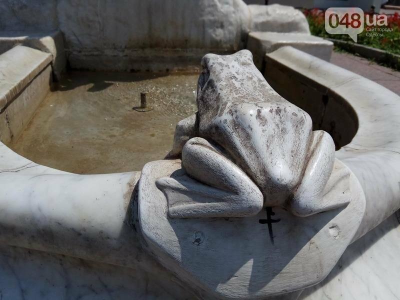 Вандалы покусились на уникальный фонтан в центре Одессы (ФОТО), фото-6