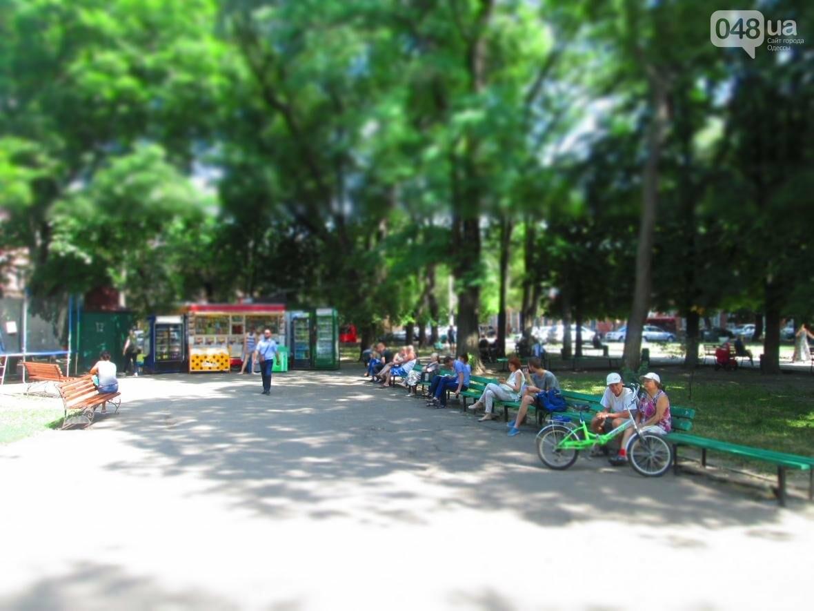 Такой маленький, грязный, но такой родной: Одесский сквер заиграл летними красками (ФОТОРЕПОРТАЖ), фото-11