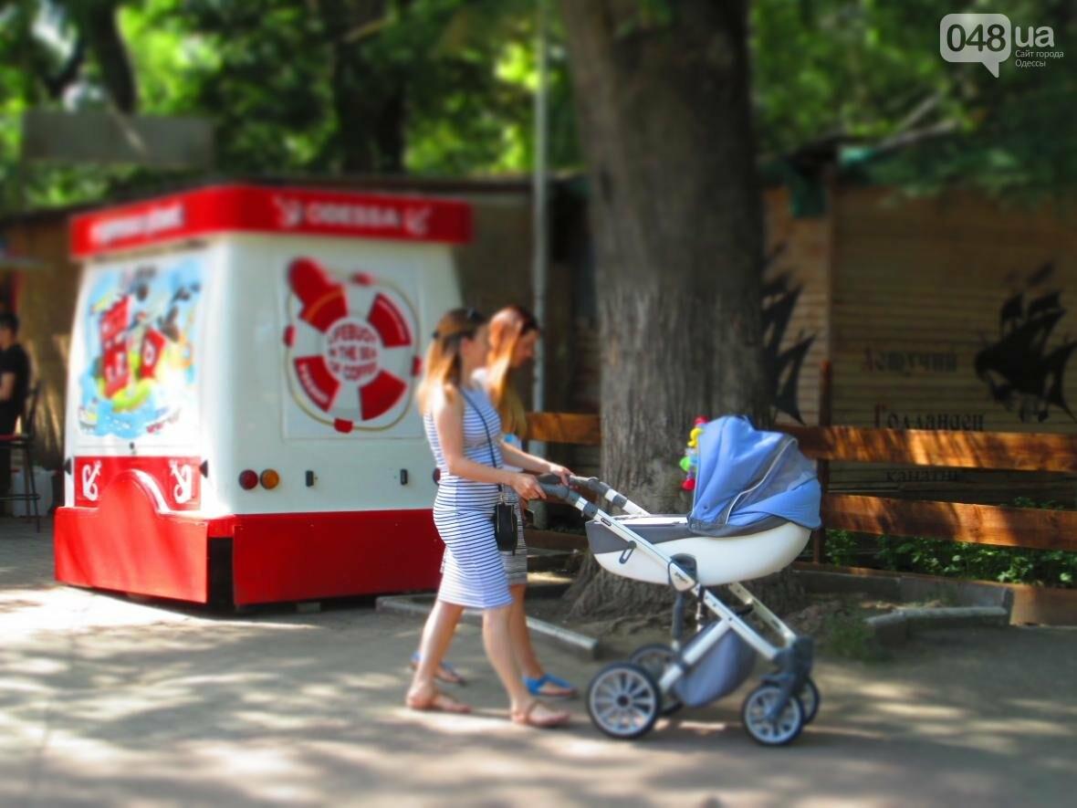 Такой маленький, грязный, но такой родной: Одесский сквер заиграл летними красками (ФОТОРЕПОРТАЖ), фото-12