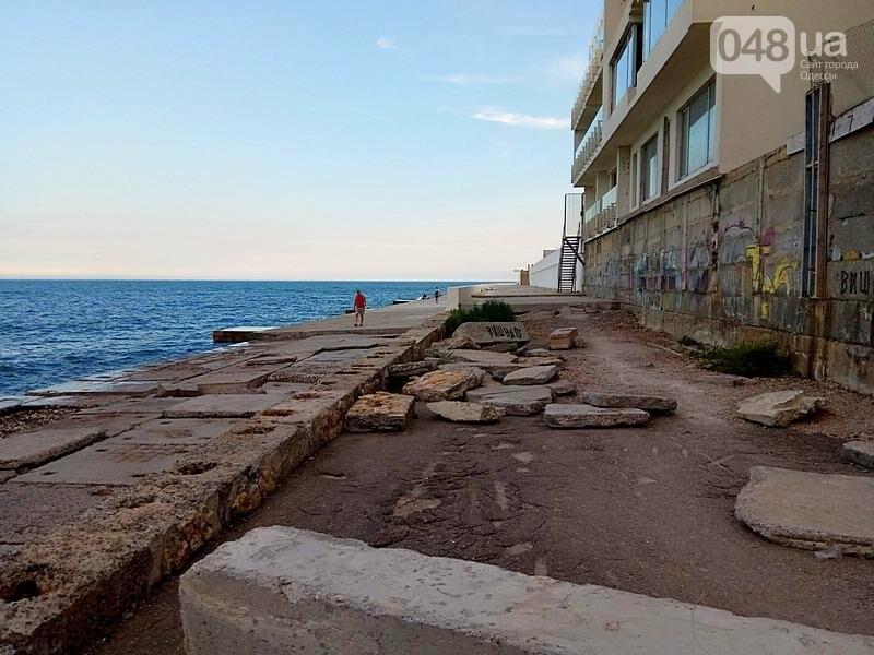 В Одессе растет свалка на набережной Аркадии (ФОТО), фото-1