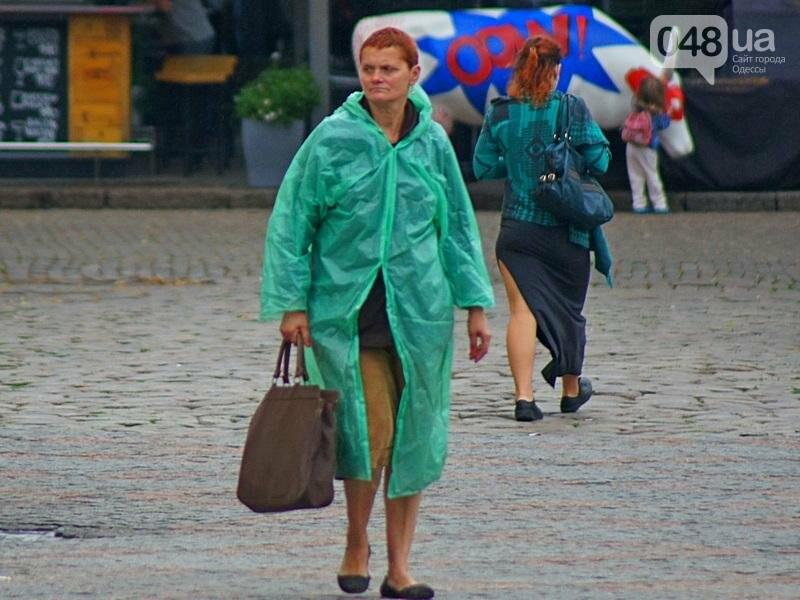 Шапка и шуба: чем порадовал июльский день одесситов (ФОТО), фото-8