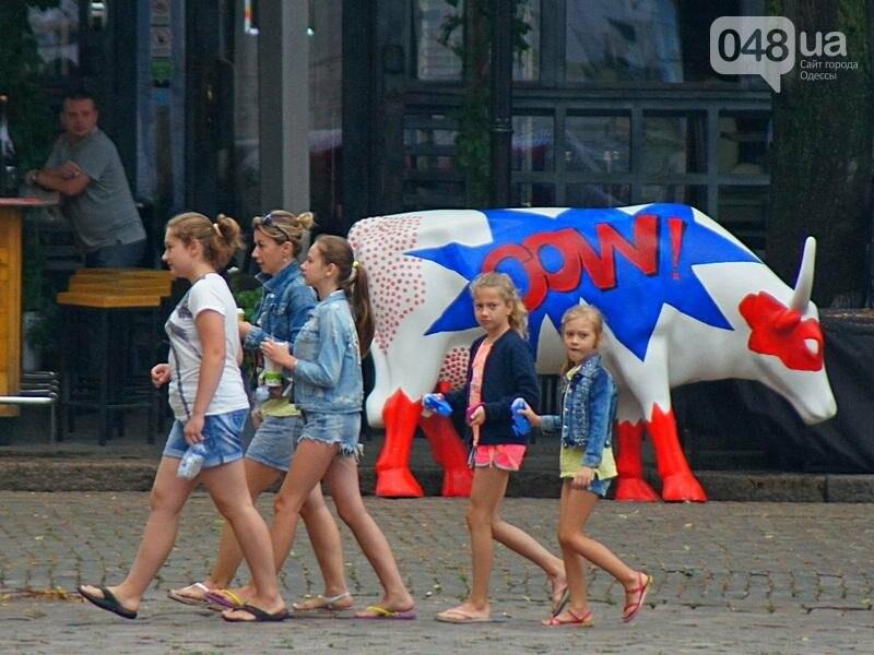 Шапка и шуба: чем порадовал июльский день одесситов (ФОТО), фото-10