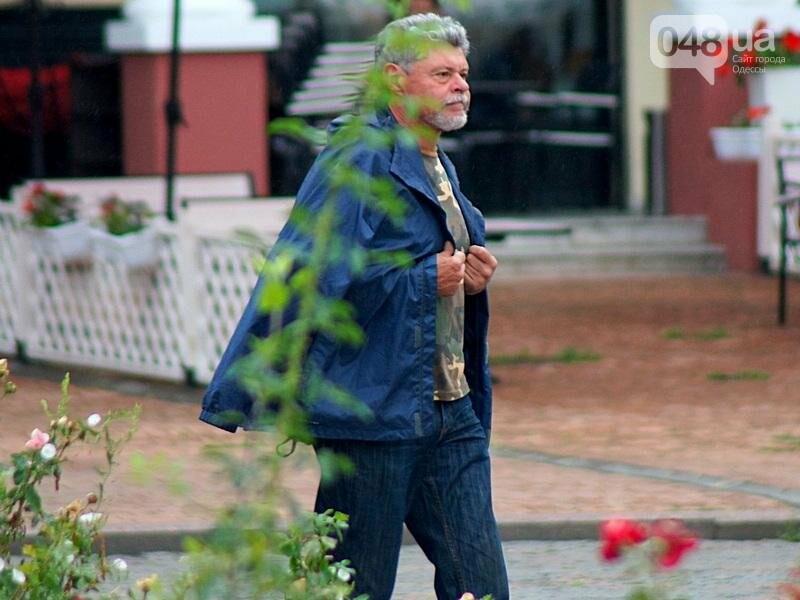 Шапка и шуба: чем порадовал июльский день одесситов (ФОТО), фото-12