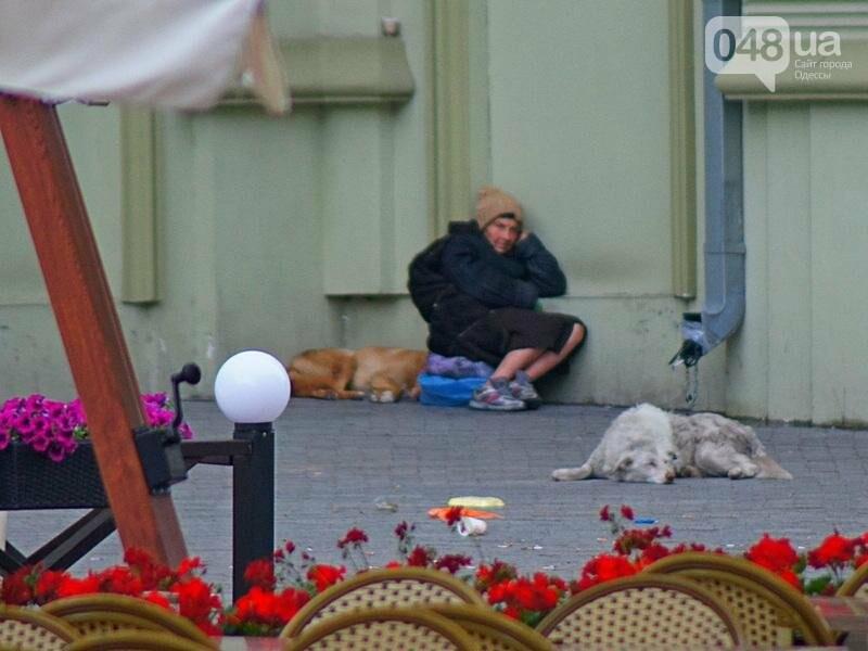 Шапка и шуба: чем порадовал июльский день одесситов (ФОТО), фото-15