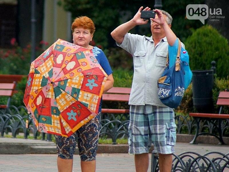 Шапка и шуба: чем порадовал июльский день одесситов (ФОТО), фото-21