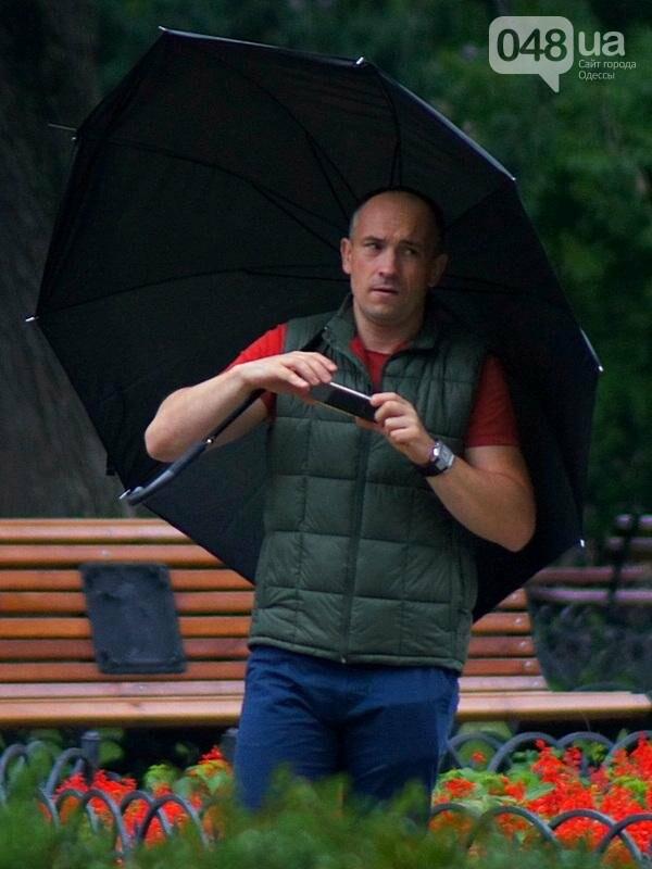 Шапка и шуба: чем порадовал июльский день одесситов (ФОТО), фото-23