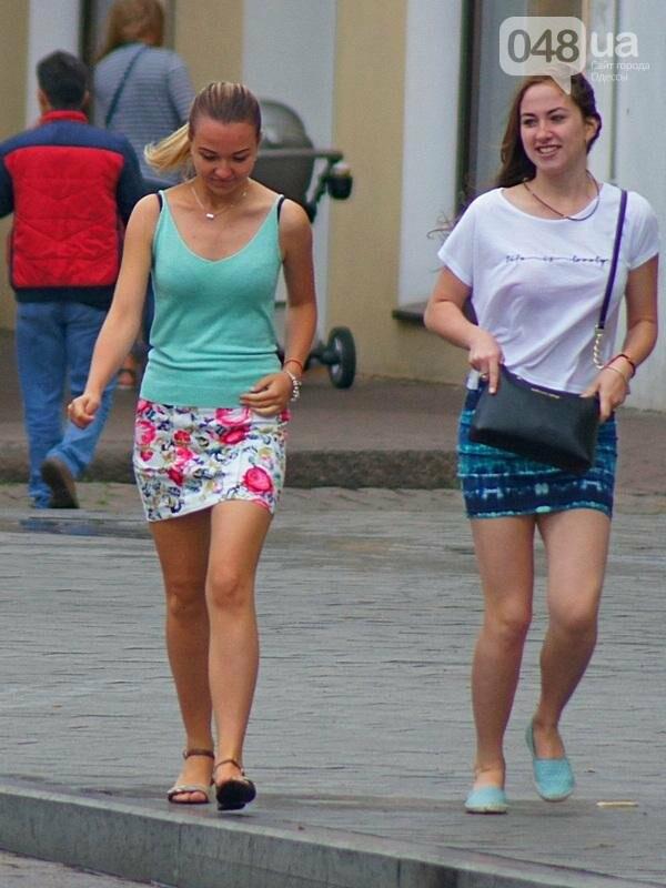 Шапка и шуба: чем порадовал июльский день одесситов (ФОТО), фото-29