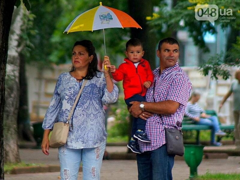 Шапка и шуба: чем порадовал июльский день одесситов (ФОТО), фото-38