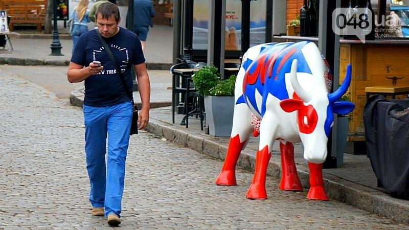 Корова-супергерой спасет Одессу от злых врагов (ФОТОФАКТ), фото-1