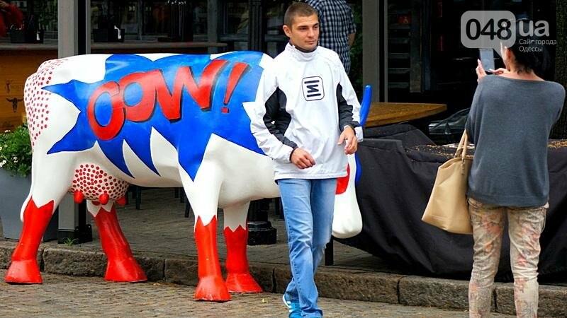 Корова-супергерой спасет Одессу от злых врагов (ФОТОФАКТ), фото-2