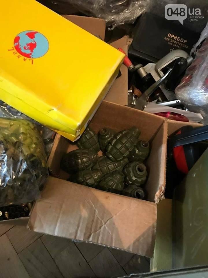 Глоки, кольты, гранаты и винтовка Мосина: СБУ задержали одесситов-членов крупной банды (ФОТО), фото-9