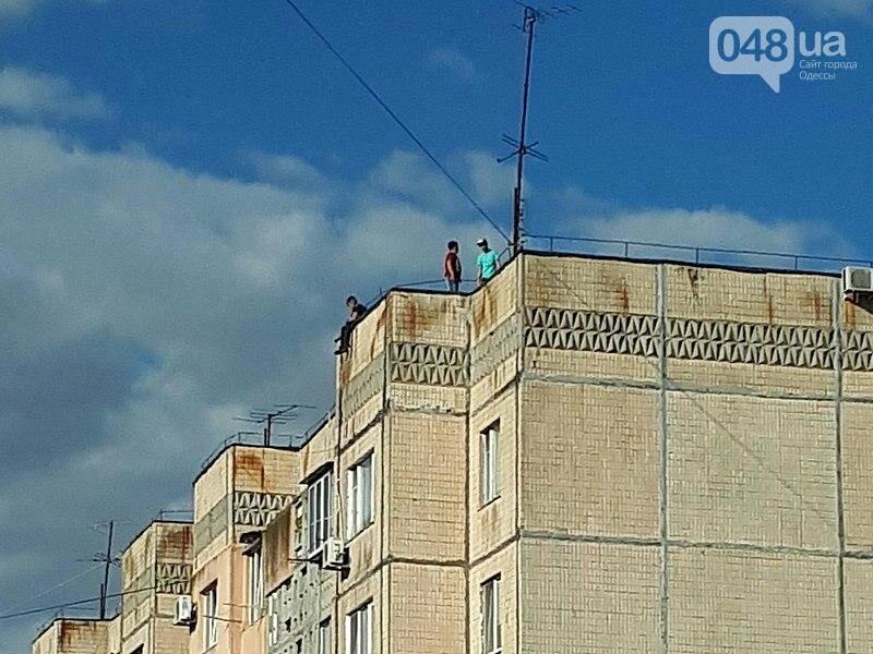 На крышах одесских высоток заметили опасные игры детей (ФОТО), фото-1