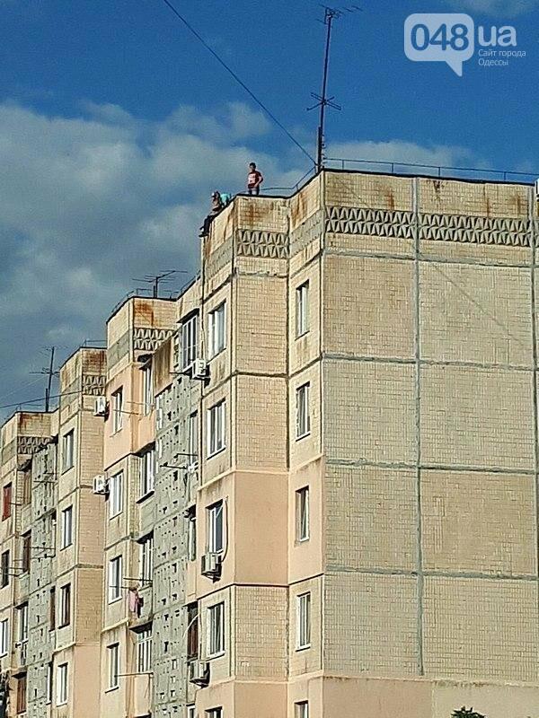 На крышах одесских высоток заметили опасные игры детей (ФОТО), фото-2