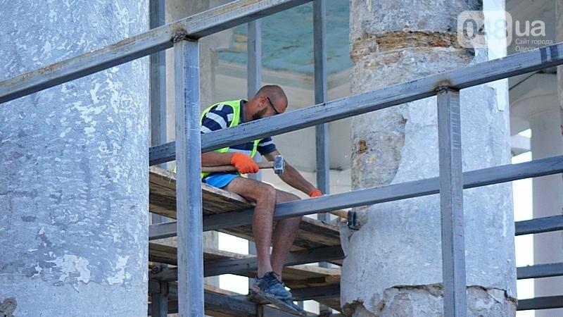 Археология, а не реставрация: что нашли под колоннадой в Одессе? (ФОТО), фото-4