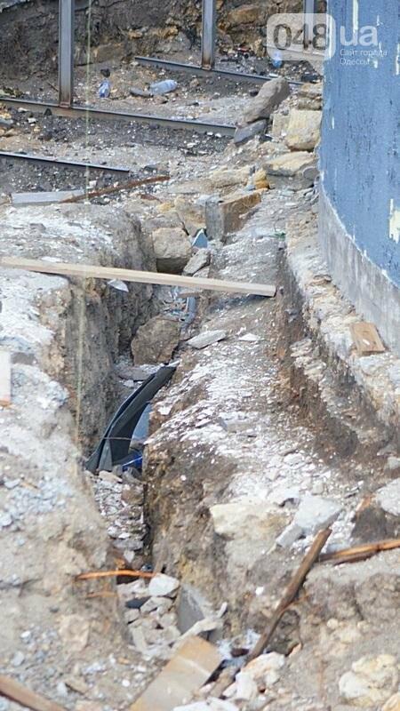 Археология, а не реставрация: что нашли под колоннадой в Одессе? (ФОТО), фото-15