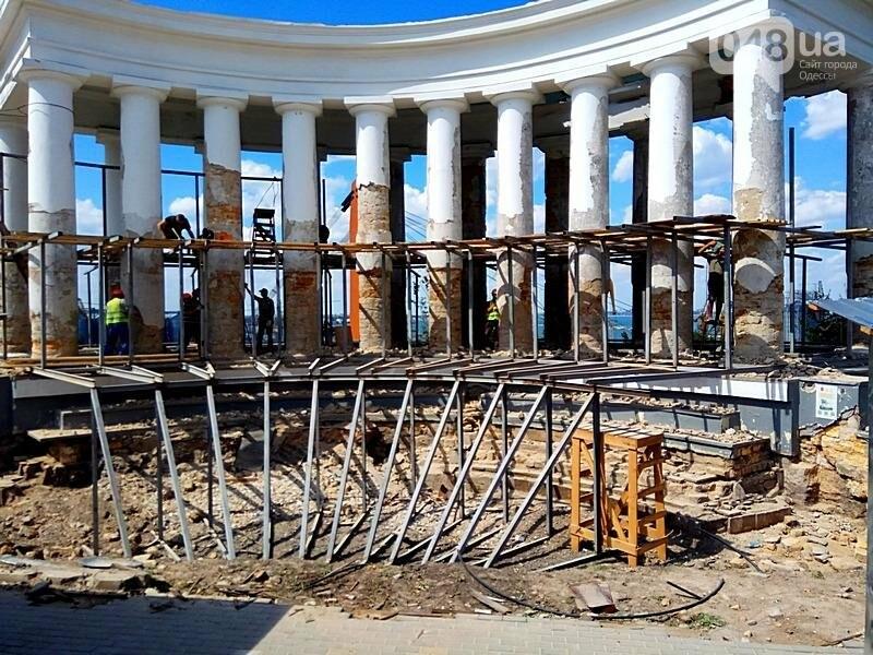 Археология, а не реставрация: что нашли под колоннадой в Одессе? (ФОТО), фото-21