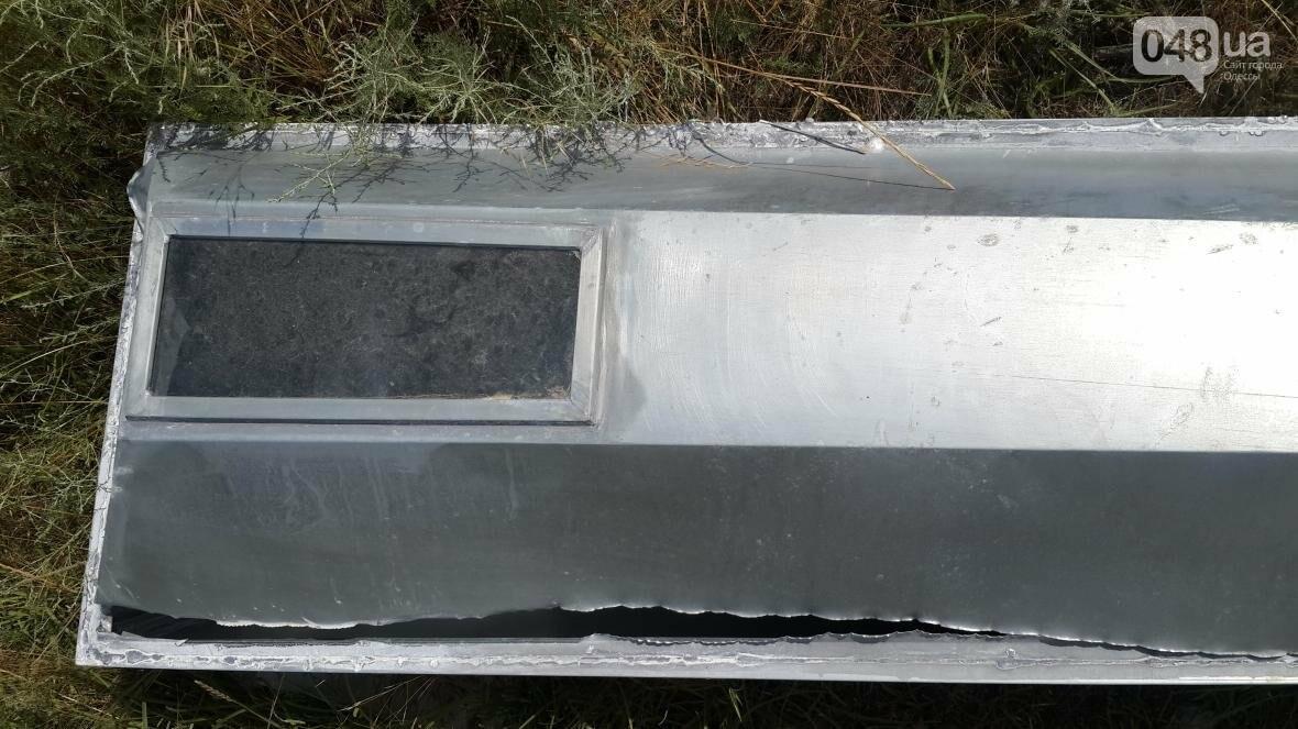 На берегу Куяльника нашли вскрытый гроб (ФОТО), фото-1