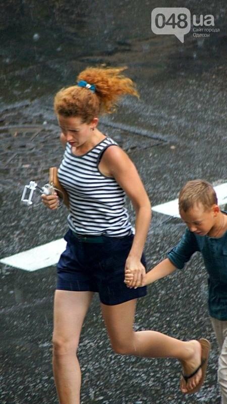 Ливень спас одесситов от июльской жары (ВИДЕО, ФОТО), фото-6