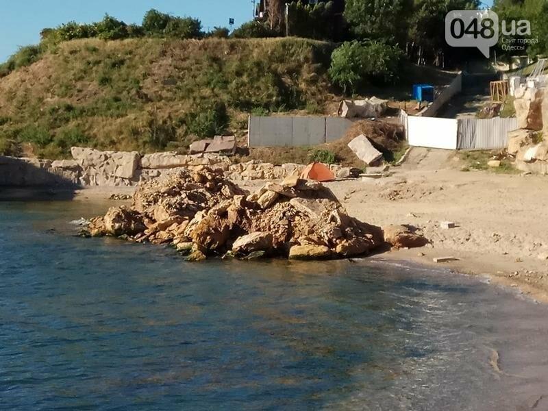 На одесском пляже олигарха поселились туристы (ФОТОФАКТ), фото-4