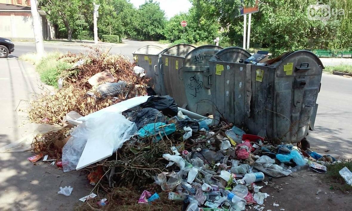 Туристы в шоке: В разгар курортного сезона из Одессы перестали вывозить мусор (ФОТО), фото-1
