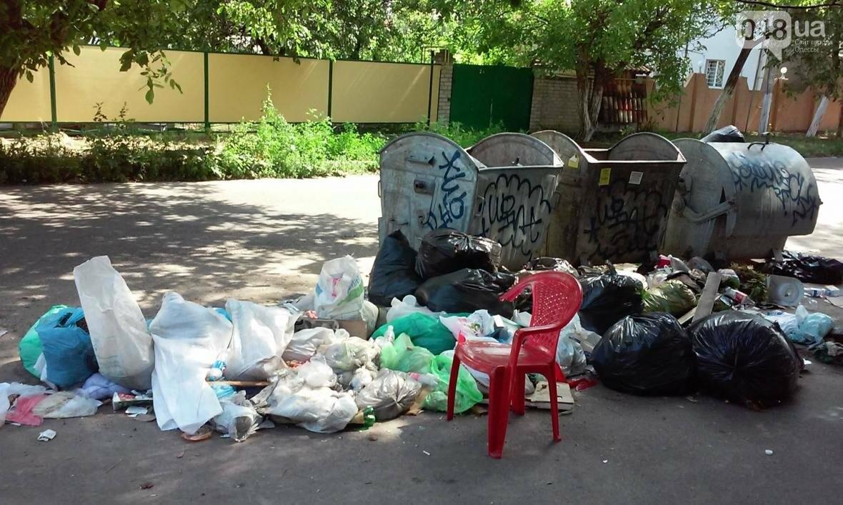 Туристы в шоке: В разгар курортного сезона из Одессы перестали вывозить мусор (ФОТО), фото-2