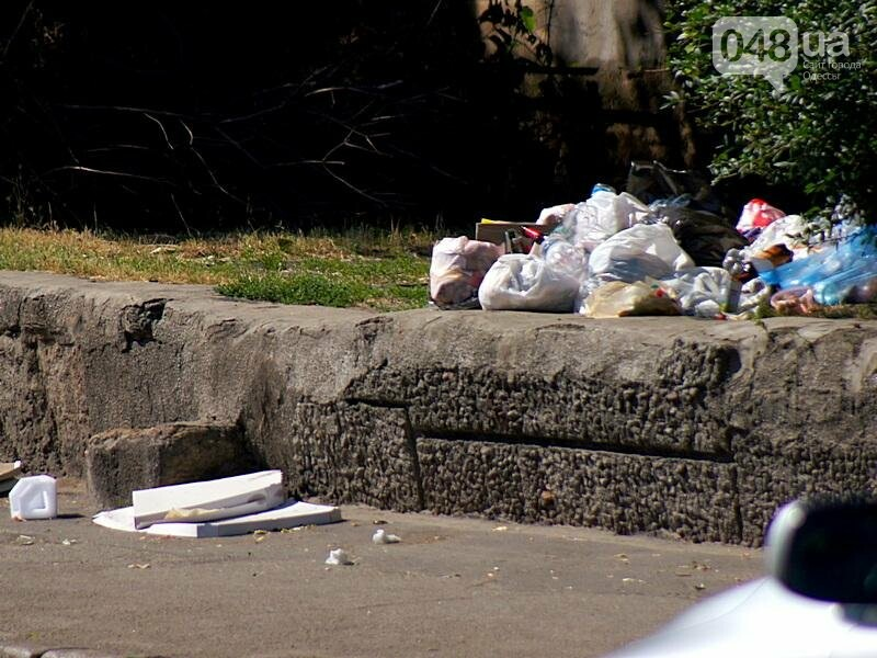Центр Одессы завален мусором после выходных (ФОТО), фото-7