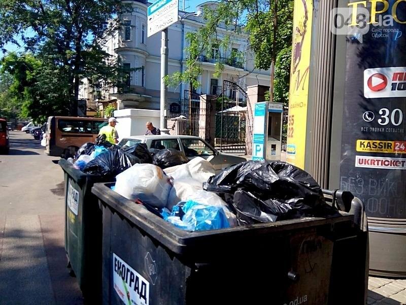 Центр Одессы завален мусором после выходных (ФОТО), фото-6