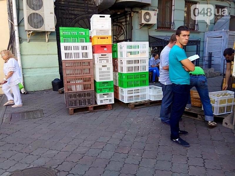 Центр Одессы завален мусором после выходных (ФОТО), фото-4
