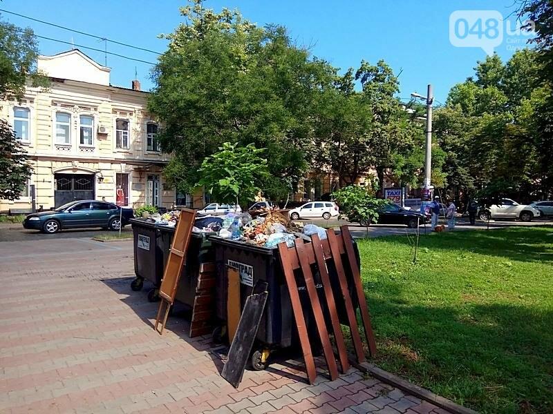 Центр Одессы завален мусором после выходных (ФОТО), фото-10