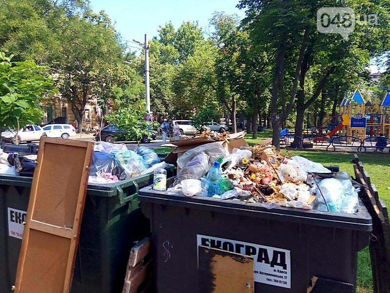 Центр Одессы завален мусором после выходных (ФОТО), фото-12