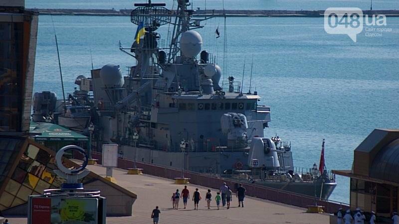 В Одессе гостит турецкий военный флот с подлодкой (ФОТО), фото-4