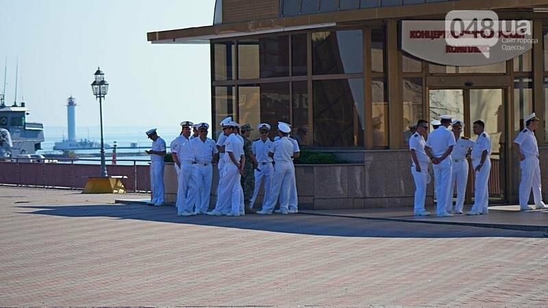 В Одессе гостит турецкий военный флот с подлодкой (ФОТО), фото-5