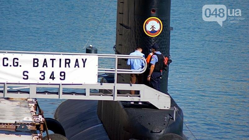 В Одессе гостит турецкий военный флот с подлодкой (ФОТО), фото-12