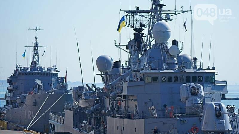 В Одессе гостит турецкий военный флот с подлодкой (ФОТО), фото-9