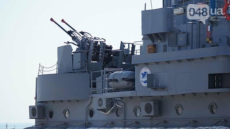 В Одессе гостит турецкий военный флот с подлодкой (ФОТО), фото-7