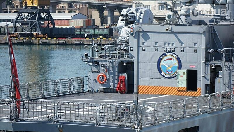 В Одессе гостит турецкий военный флот с подлодкой (ФОТО), фото-14