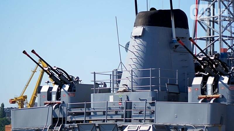 В Одессе гостит турецкий военный флот с подлодкой (ФОТО), фото-13