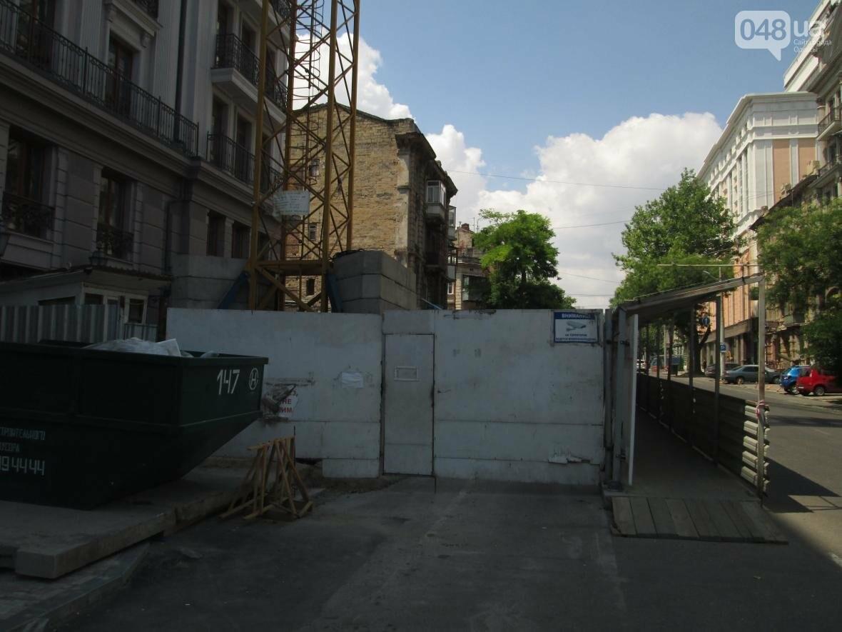 Одесские строители работают над созданием трагедии в центре города (ФОТО), фото-2