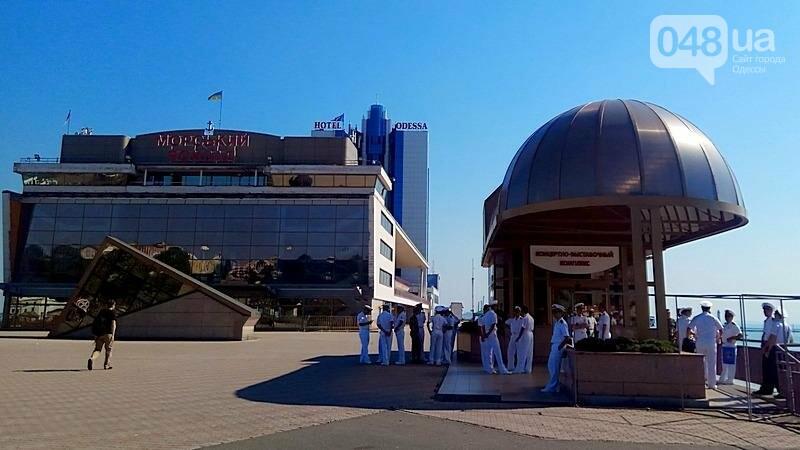 В Одессе гостит турецкий военный флот с подлодкой (ФОТО), фото-10
