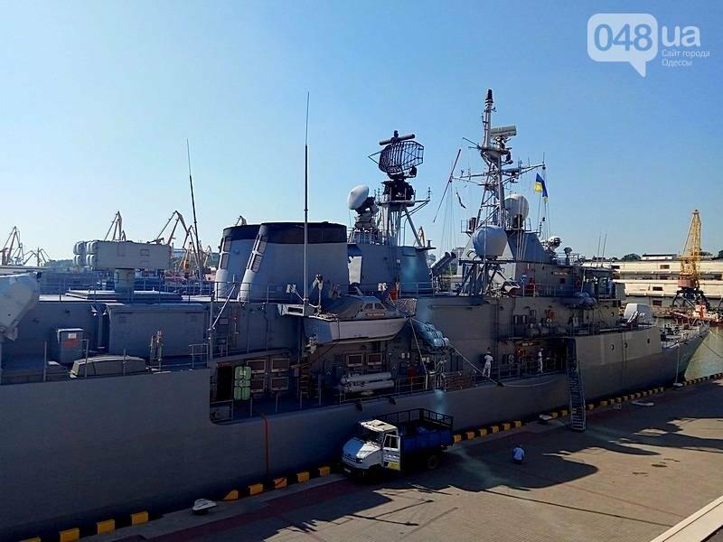 В Одессе гостит турецкий военный флот с подлодкой (ФОТО), фото-11