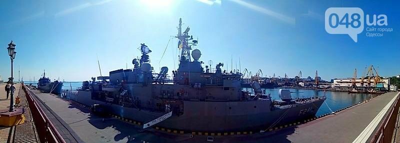 В Одессе гостит турецкий военный флот с подлодкой (ФОТО), фото-2